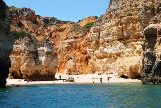 The Hidden Nudist Beach Seen From The Kayak You Can Also Find A Really Steep Path To -5390