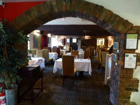 1885 The Restaurant: Attractive setting