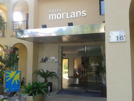 Hotel Morlans: Hoteleingang