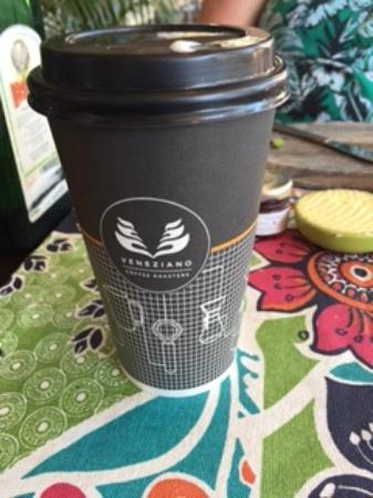 Salt Seafood Bar and Grill: Great coffee