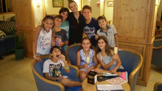 Folgarida, Italien: Barbara brava responsabile baby e junior club