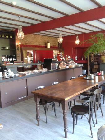 Hotel Cafe Restaurant van Saaze : Mooi restaurant