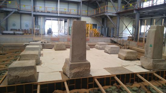 Miruksa Temple Site: restoring