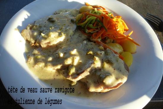 Tete De Veau Picture Of La Table Du Cuisinier Saint Gervais La