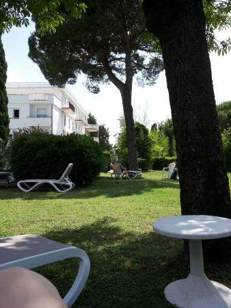 Hotel Terme Vena D'Oro: VISTA PARCO