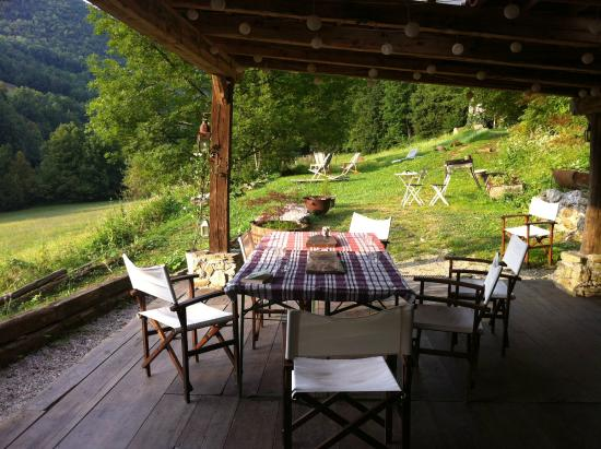Klavze 28: Eating/sitting area