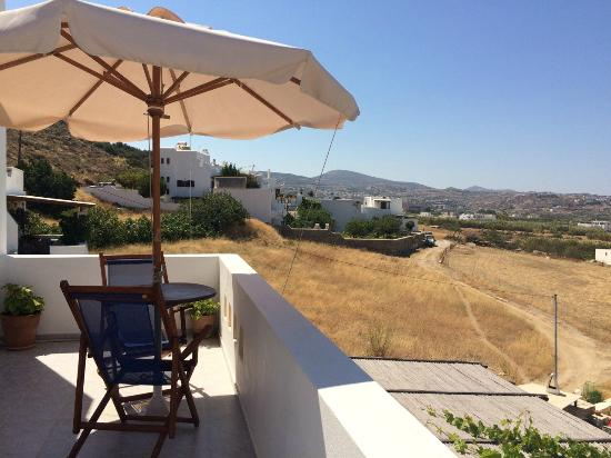 Aeolos Sunny Villas: Θεα απο το μπαλκονι του δωματιου μας