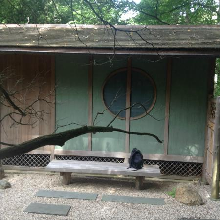 Locust Valley, estado de Nueva York: Japanese tea house. sorry no tea was being served