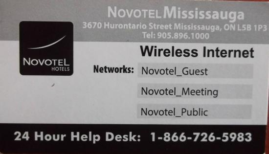 Business card in february 2015