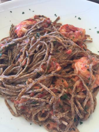 Herby past with prawns - Picture of Ristorante Bagni Al Saraceno ...