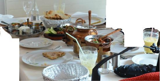 Jaipur : All the Main Course - keema naan, Saag Gosht, Tandoori prawn masala