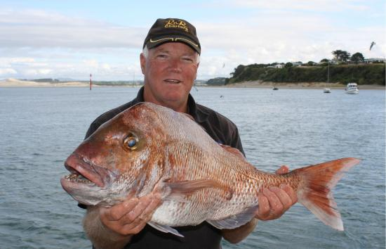 Twenty years chartering RnR out of Mangawhai Heads, Wayne knows the places to fish, or just enjo