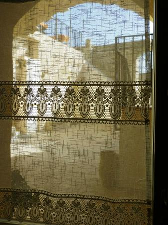 Looking through front door net curtain - Picture of Il Belvedere ...