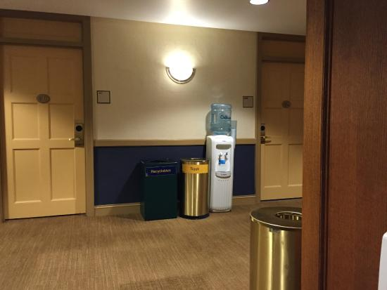 Inn at the Michigan League: How close the check-in desk is to your room!