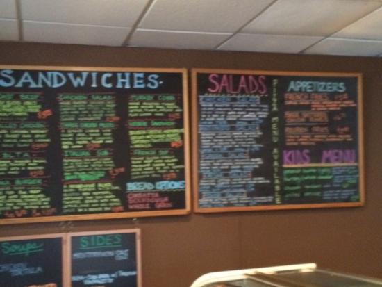 Moka Coffee Pastries & Wine: Sandwich & Salad menu