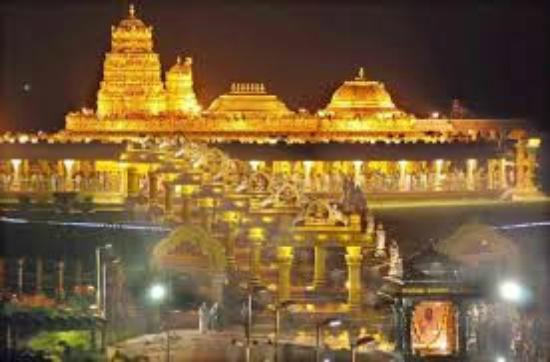Sripuram Golden Temple: really all gold