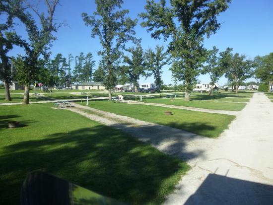 Hazleton, IA: Daily sites area