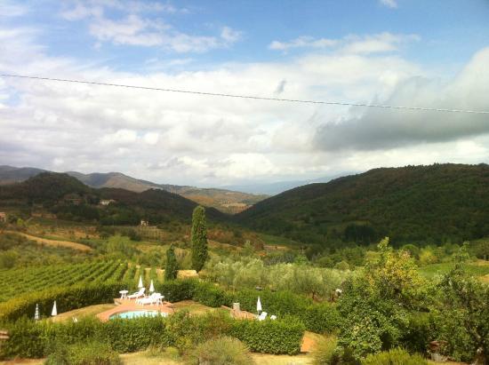 Lucolena, İtalya: Villa area