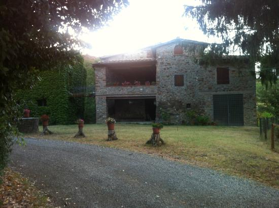 Lucolena, Italia: Villa area