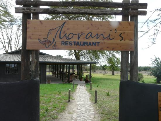 Morani's Restaurant : Welcome!