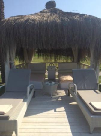 Paloma Grida Resort & Spa: Beach Cabana