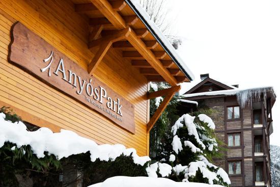 Hotel Anyos Park: AnyosPark en invierno