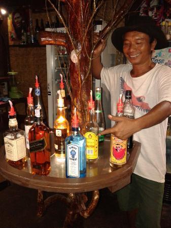 Melon daiquiri and new barman