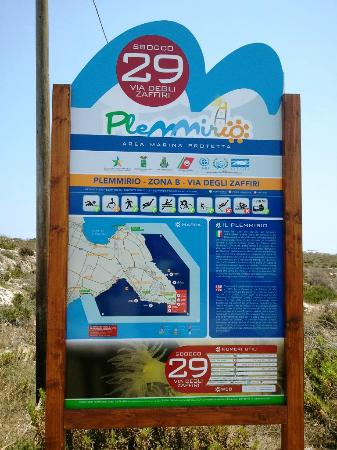 Parco Marino del Plemmirio: Varco 29