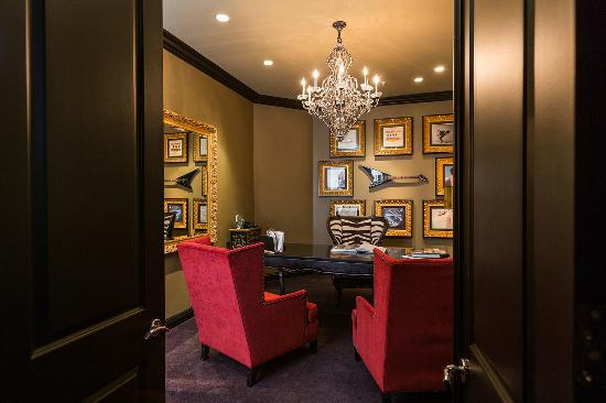 Hotel Zaza Houston Museum District Rock Star Magnificent Seven Suite Office