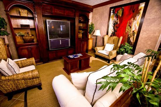 Living Room Beach Villa Interior