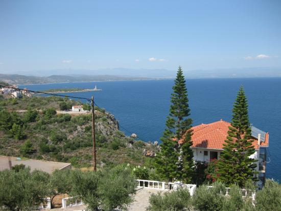 Kalypso Studios: Uitzicht vanaf balkon