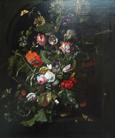 The National Museum of Art of Romania: Rachel Ruysch: Flower Bouquet