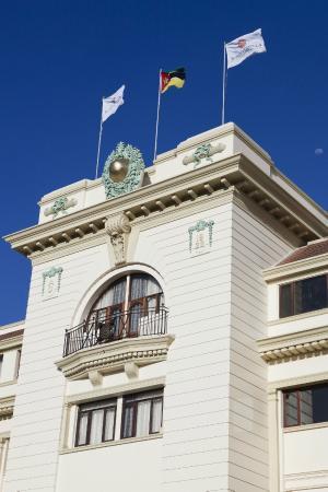 Polana Serena Hotel: Main Facade