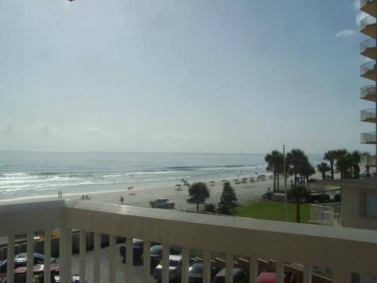 Hampton Inn Daytona Ss Oceanfront View From Our Ocean Room