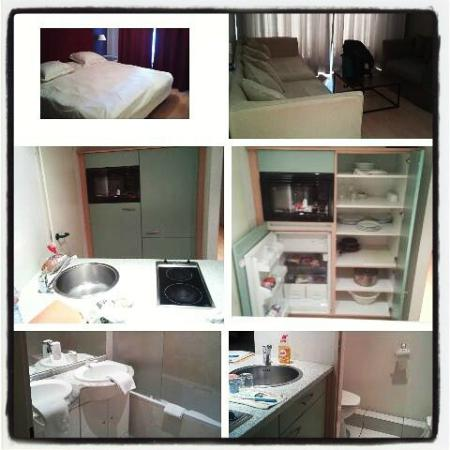 Aparthotel Brussels Midi: Room #21