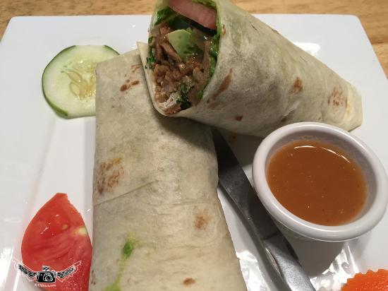 Loving Hut: wraps