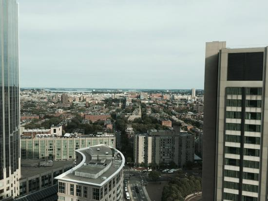 View From 29th Floor Picture Of Sheraton Boston Hotel