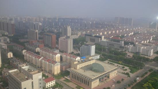 Jinzhou, Cina: vue de la chambre