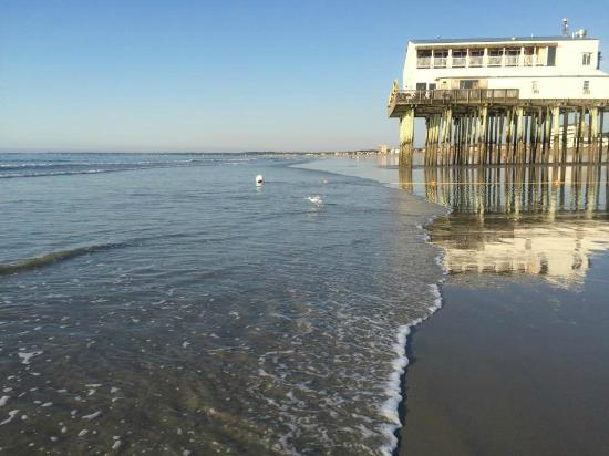 Beau Rivage Motel: low tide
