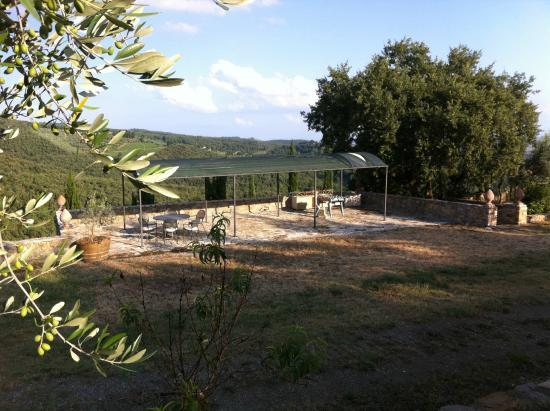 Agriturismo Poggetto : Lunch corner