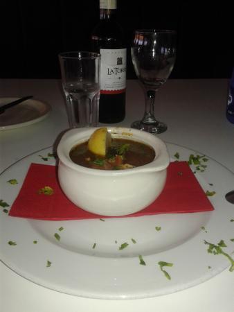 Quattro Fratelli : Aljota (Maltese for small fish) soup