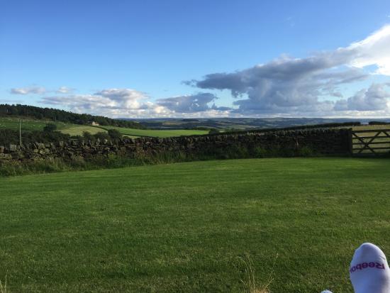 Carr Edge Farmhouse: Fabulous view!