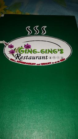 Ging-Ging's Restaurant & Flower Garden: Ging Gings Restaurant Malapascua - cheap and cheerful