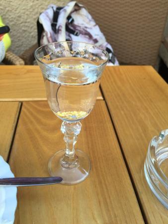 Cafe Mariacka: Goldwasser vodka