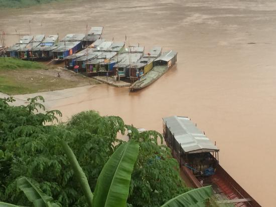 Mekong Riverside Lodge: View from room/ balcony