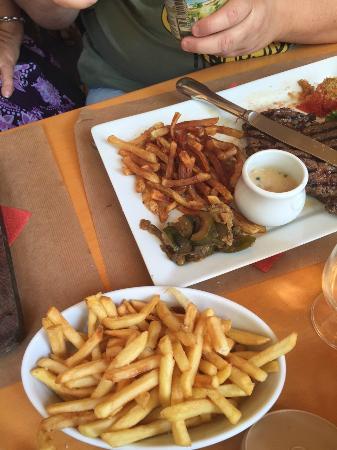 Aigo Blanco: entrecote frite