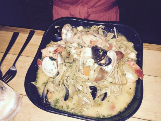 Chef Mike's ABG: Seafood Pasta