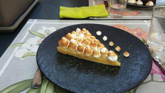 Saint Avertin, Francia: tarte au citron meringuée