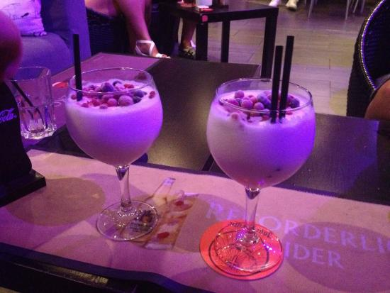 The best piña coladas I have ever had! Fantastic nights at Gravity Bar