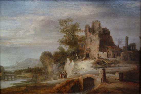 The National Museum of Art of Romania: Samuel van Hoogstraten: The Road to Emmaus